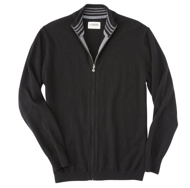 Cashmere Full-Zip Sweater image