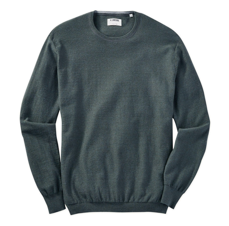 Cotton-Cashmere Crew Sweater image