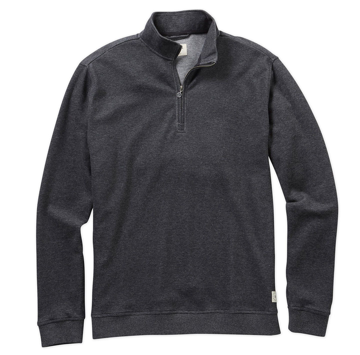 Double-Knit Quarter-Zip