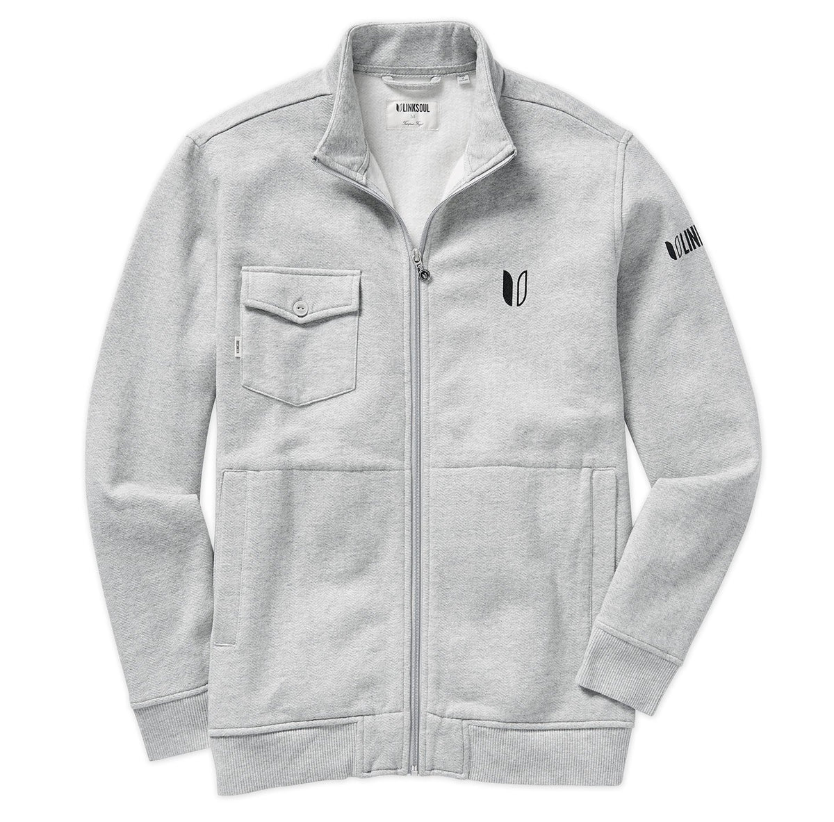 Tour Logo Full-Zip Skye Fleece Layer