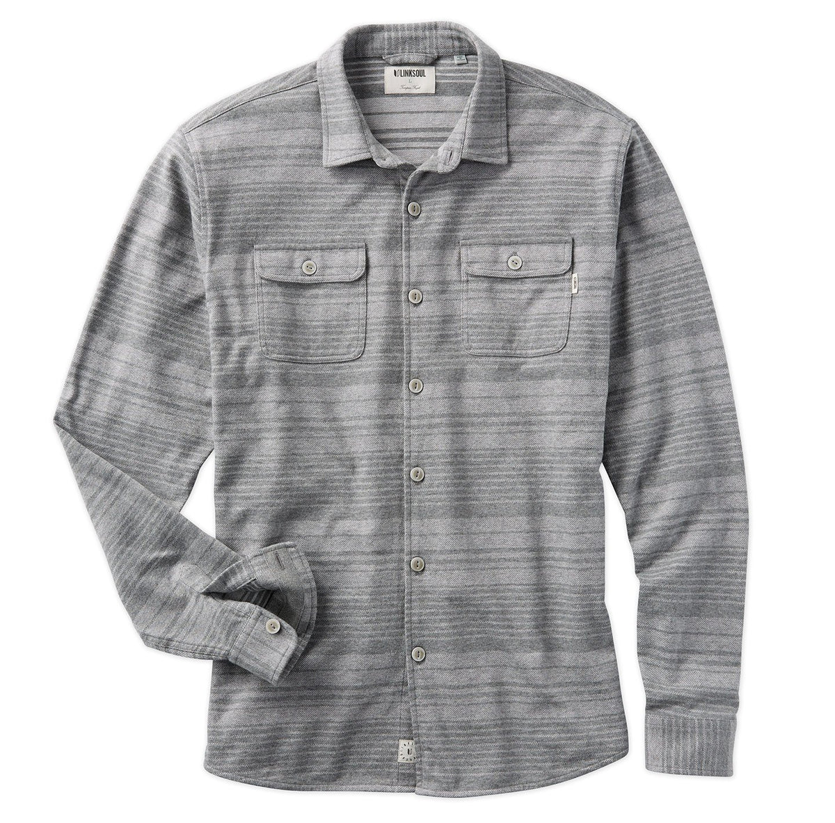 Horizon Stripe Shirt Jacket