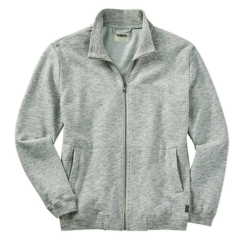 Heathered Full-Zip Layer image