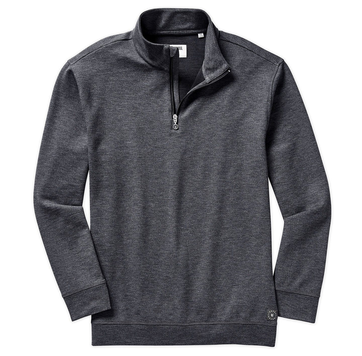 Textured Quarter-Zip Layer