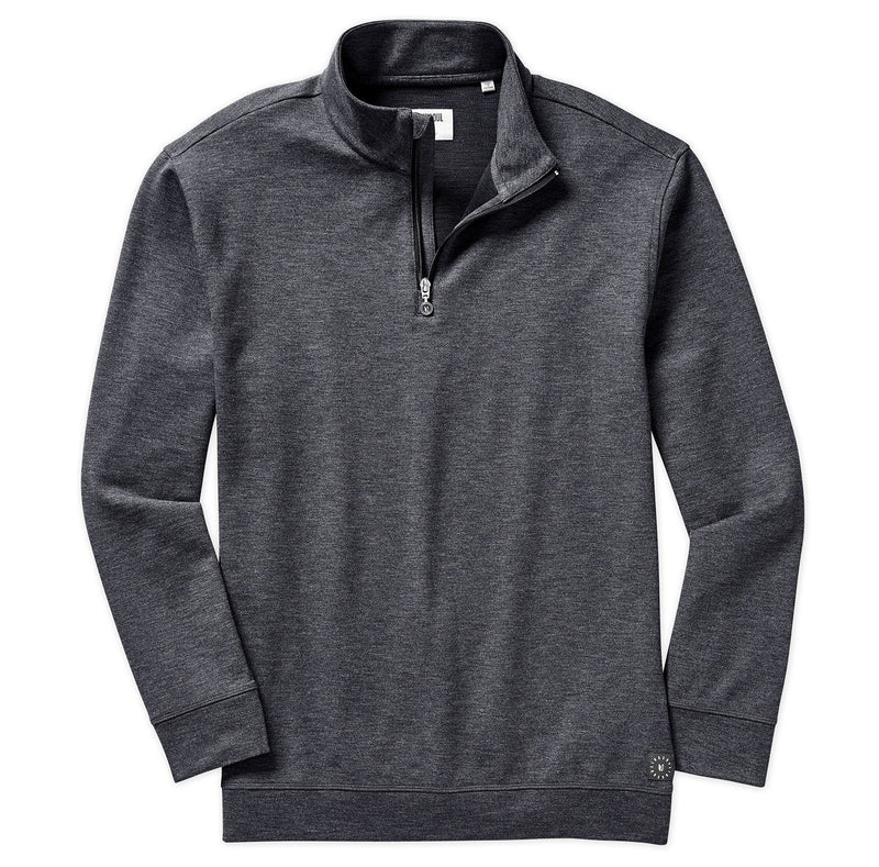 Textured Quarter-Zip Layer image