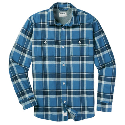 Flannel is back for Fall! A transitional staple, jersey-lined with a new cozy pattern.
