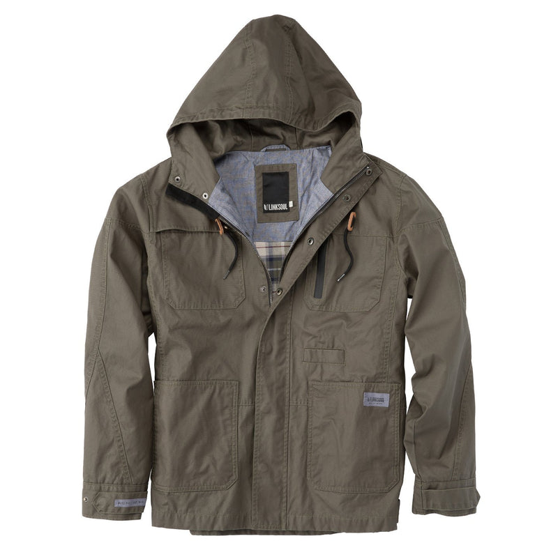 Waxed Canvas Fully Hooded Jacket image