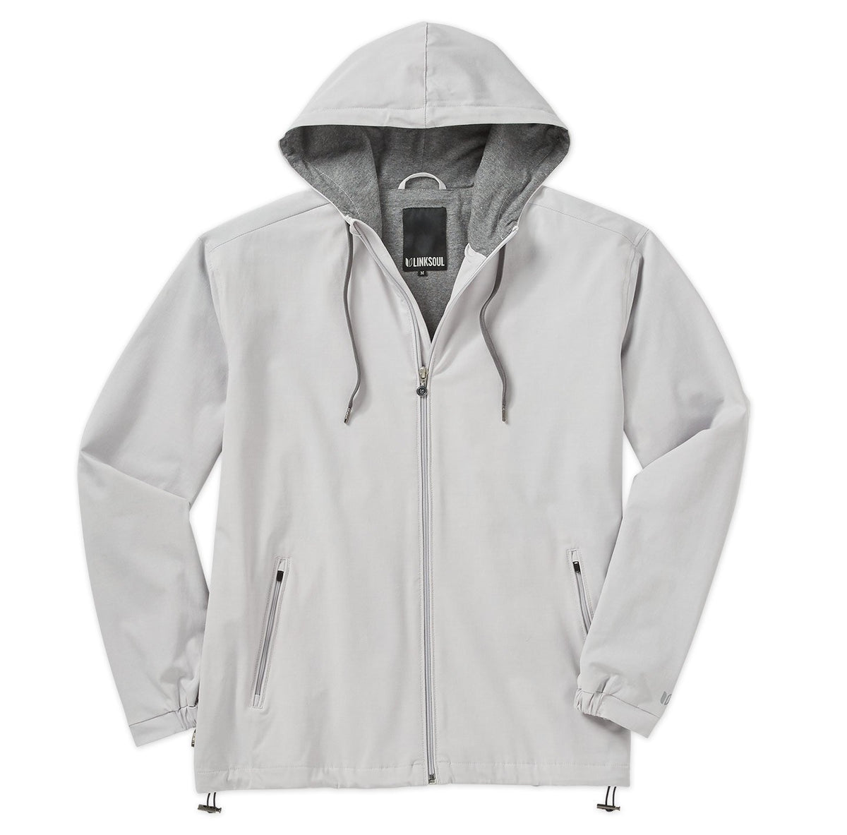 4-Way Stretch Hooded Jacket