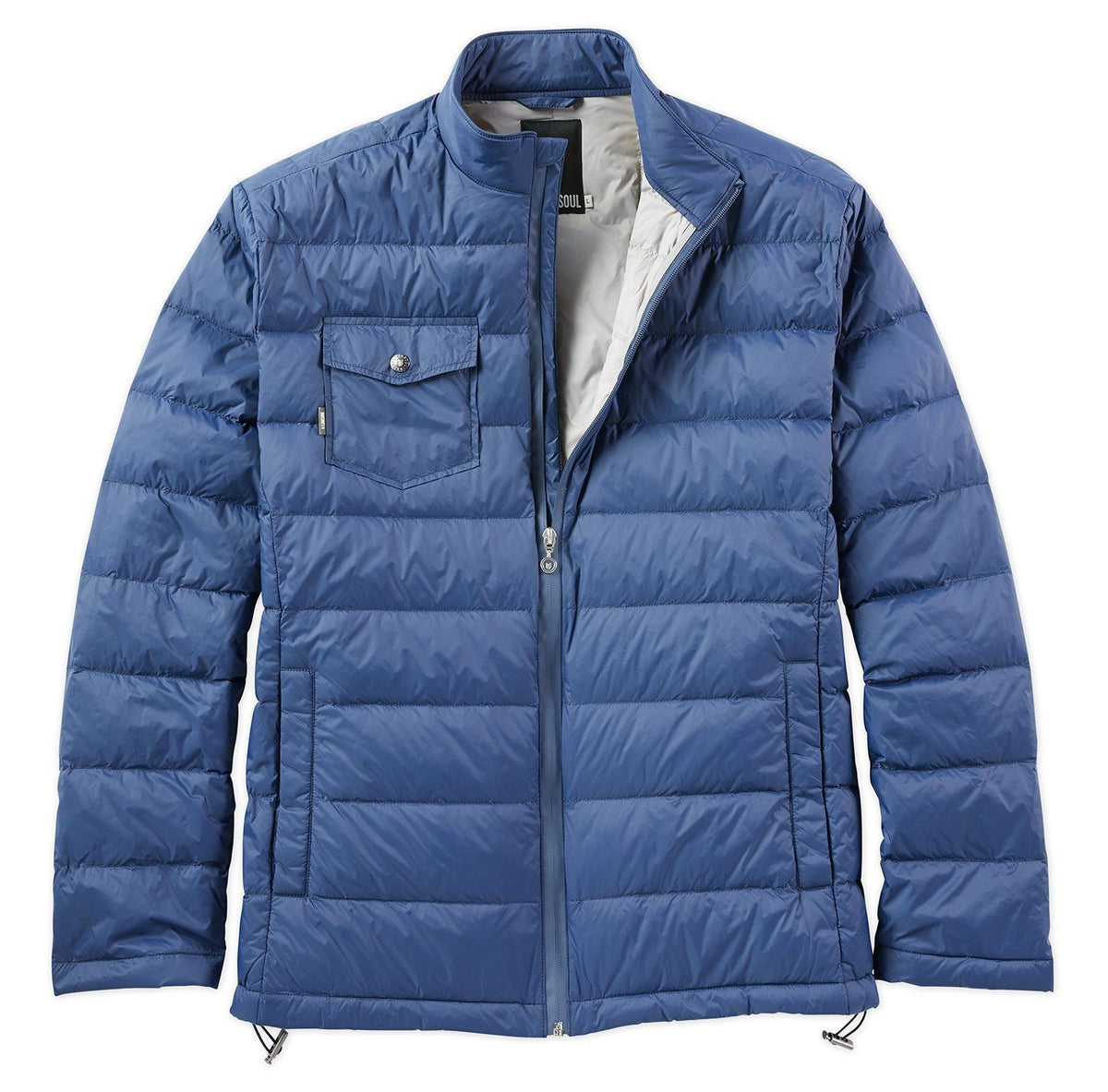 Hilgard Quilted Down Jacket