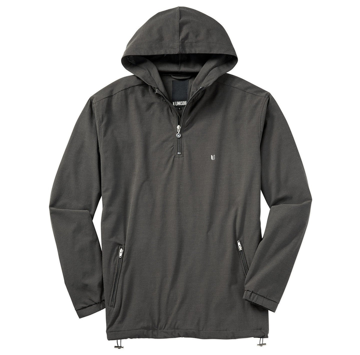 Perforated Half-Zip Boardwalker Hoodie