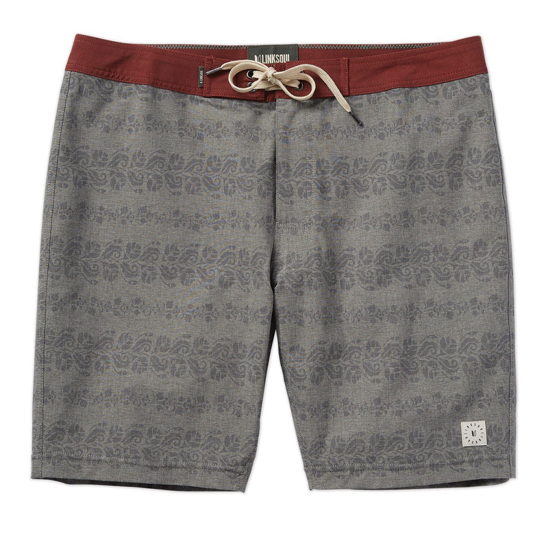 Subtle Printed Dark Grey Boardshort image