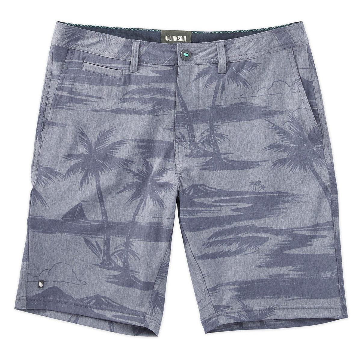 Tropical Print Boardwalker Short