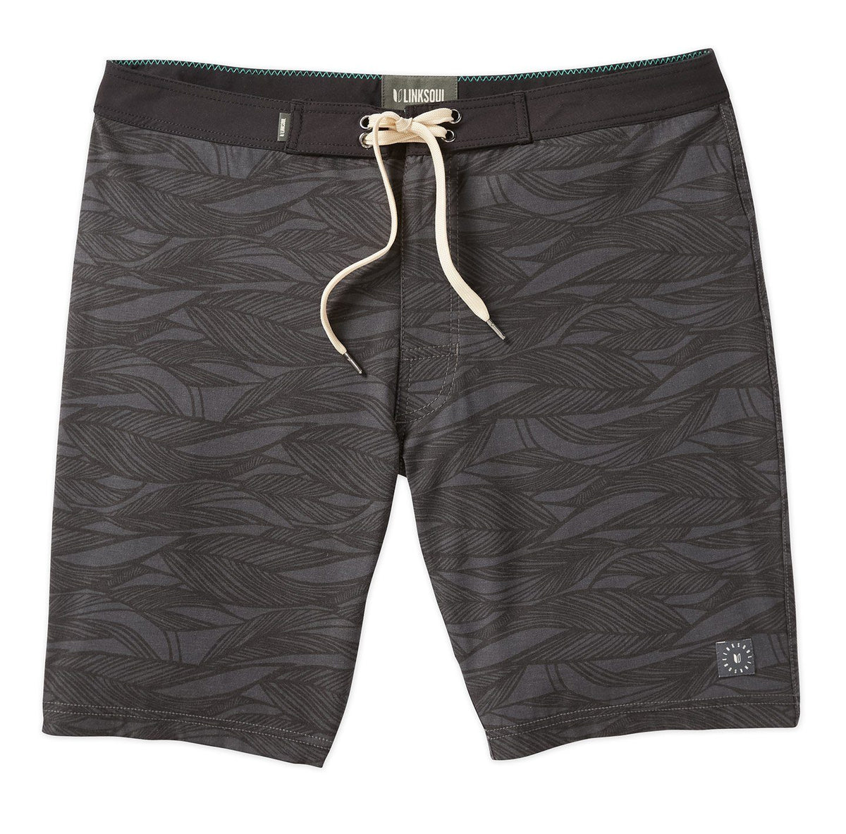 Leaf Print Boardwalker Boardshort