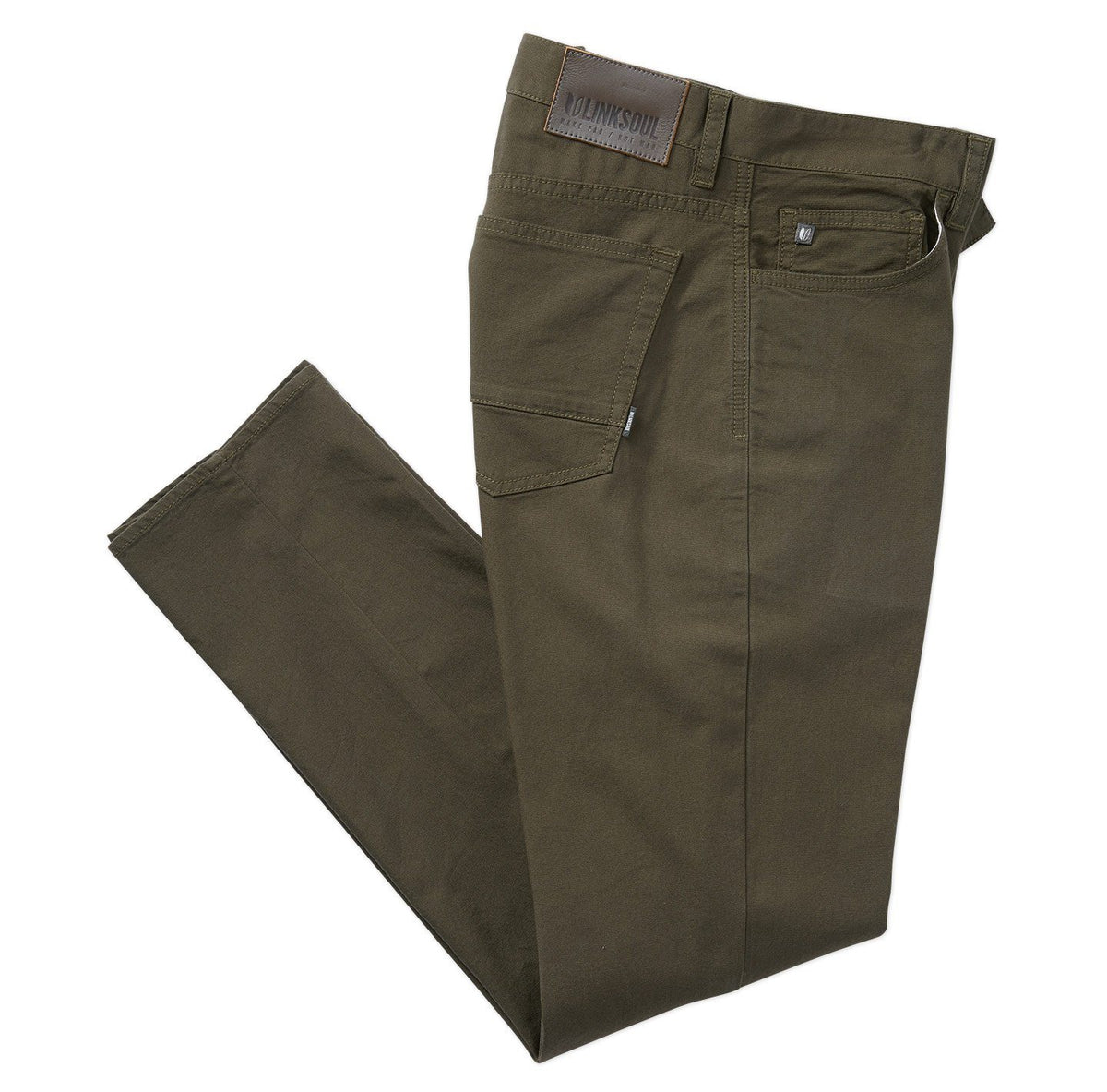 BAMBOO 5-POCKET PANT