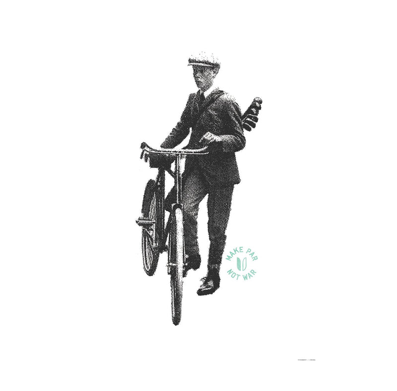 Bike Boy Art Print image