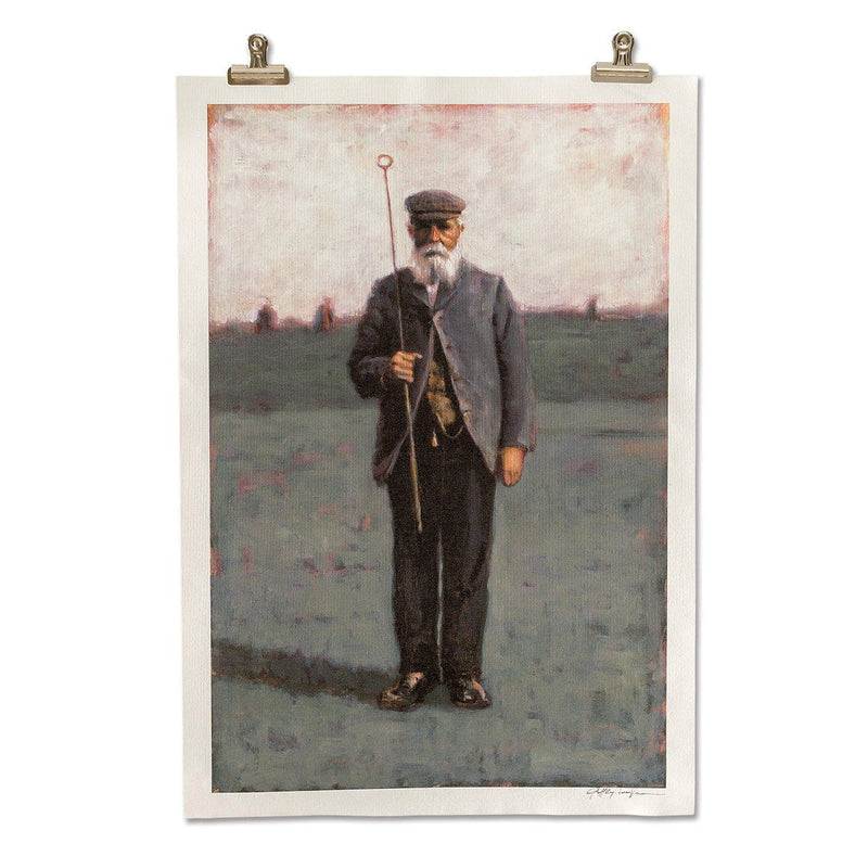 Old Tom Morris Print by Geoff Cunningham image