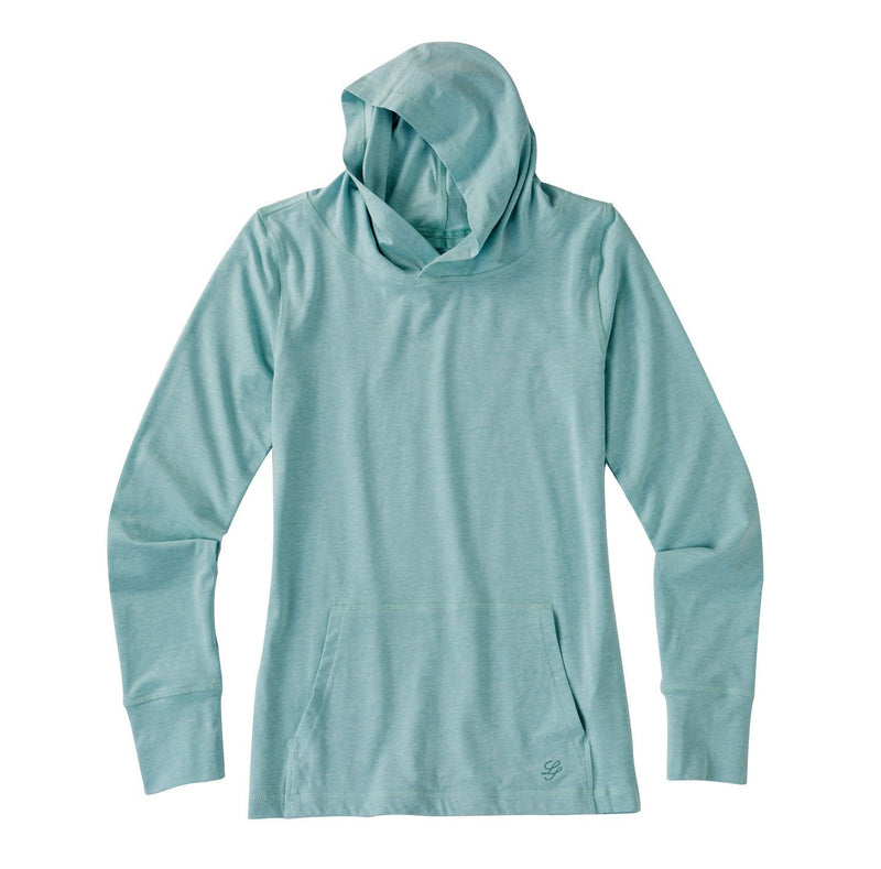 Women's Long Sleeve Hooded Shirt image