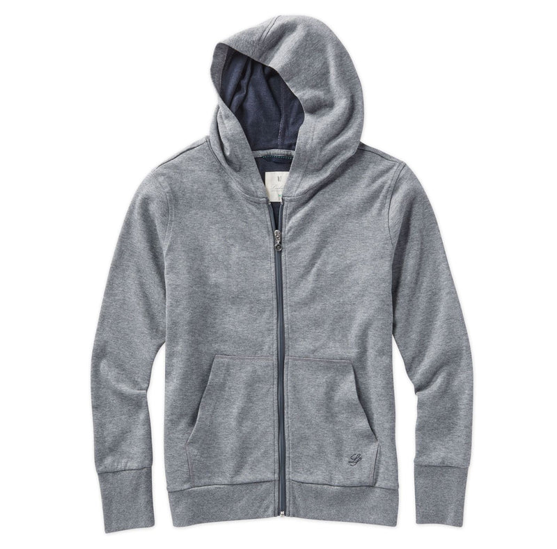 Women's Heathered Full Zip Hoodie image