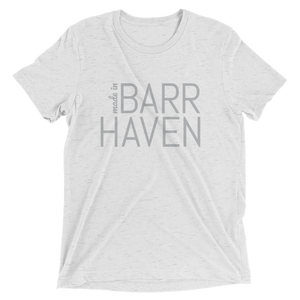 Made in Barrhaven - Men White Short Sleeve T-shirt
