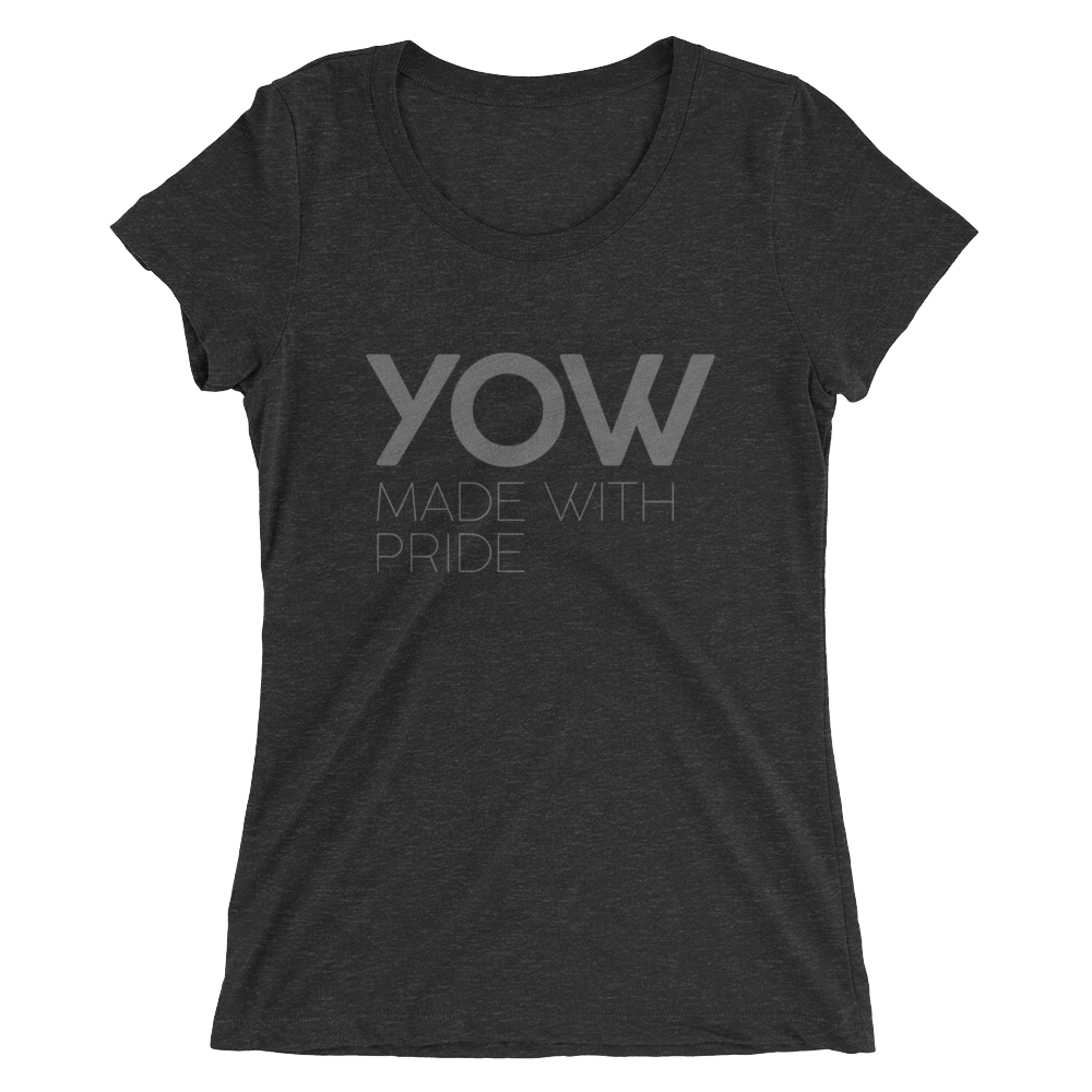 YOW - Ladies Black Short Sleeve T-shirt