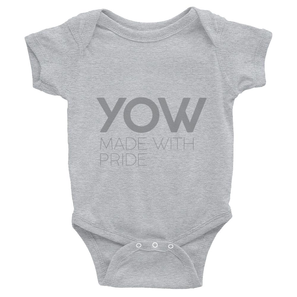 YOW - Infant Grey Bodysuit