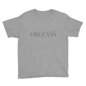 Made in Orléans - Youth Grey Short Sleeve T-Shirt