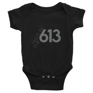 Made in the 613 - Infant Black Bodysuit