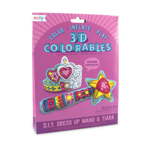 Wand & Tiara Colorable Inflatables