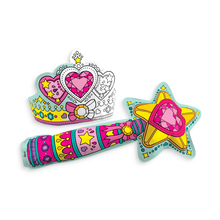 Load image into Gallery viewer, Wand & Tiara Colorable Inflatables