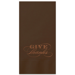 Give Thanks Guest Towels