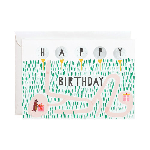 Birthday Caddy Card