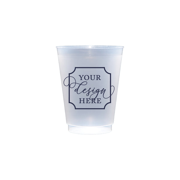 Custom Frosted Shatterproof Cups