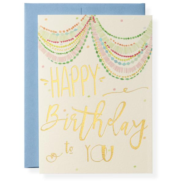 Bash Birthday Card