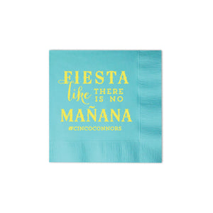 Fiesta Personalized Napkins