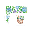 Nantucket Hydrangeas Thank You Card