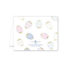 Load image into Gallery viewer, Porcelain Eggs Easter Card