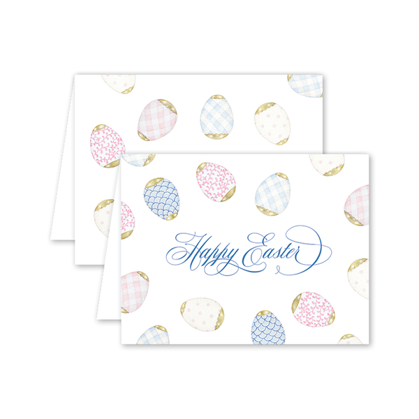Porcelain Eggs Easter Card