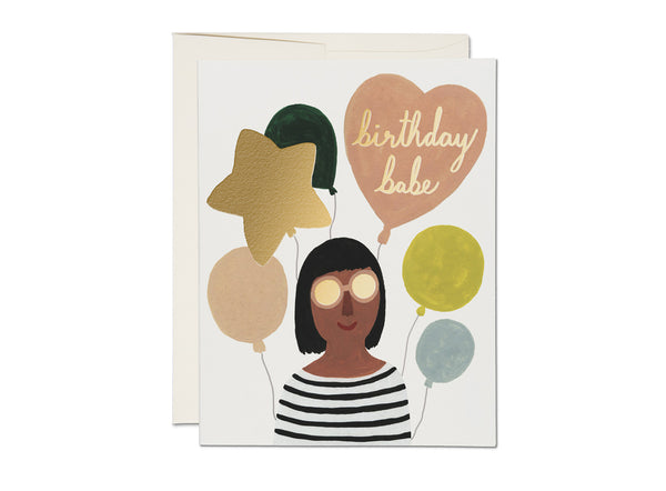 Birthday Babe Card