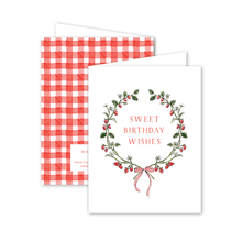 Load image into Gallery viewer, Strawberries Birthday Card