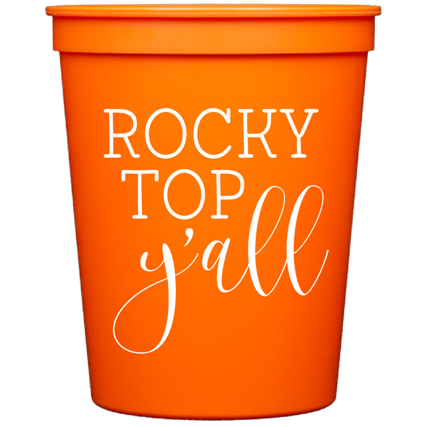Rocky Top Y'all Stadium Cups