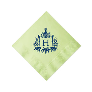 Pagoda Personalized Napkins