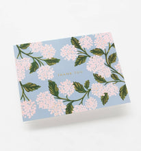 Load image into Gallery viewer, Hydrangea Thank You Cards