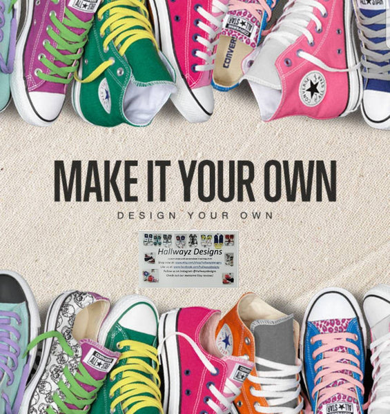 Design your own Converse shoes