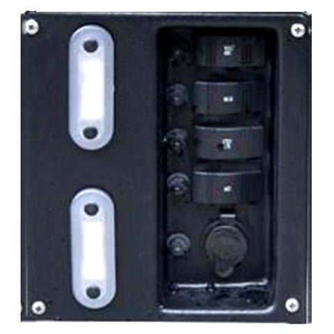 Recessed Panel Assembly with Lights & Backer Box
