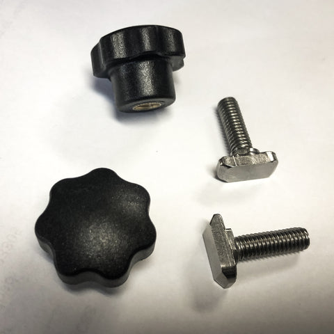 "2-Pack ""T"" Bolt and Knob Replacement"