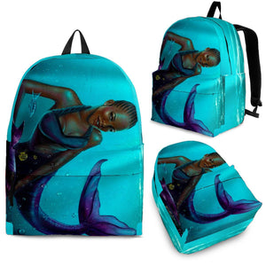 Black Mermaid Backpack - EZShopping