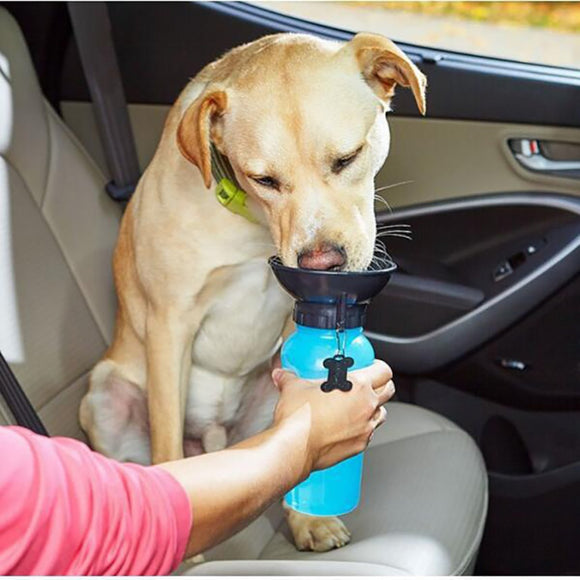 *FREE*500ML Portable Pet Dog Water Bottle - EZShopping