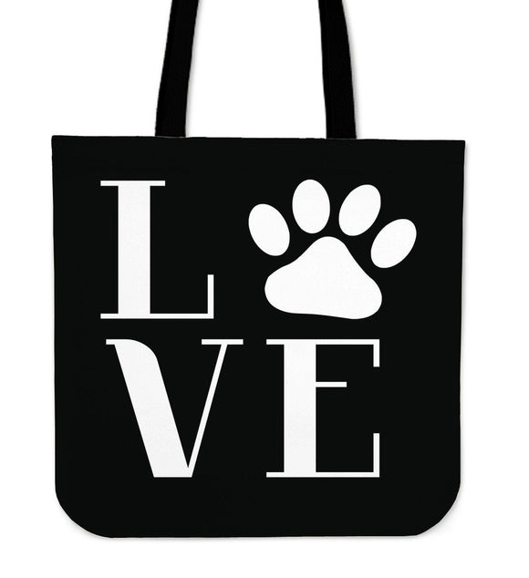 NP Love Dogs Tote Bag - EZShopping