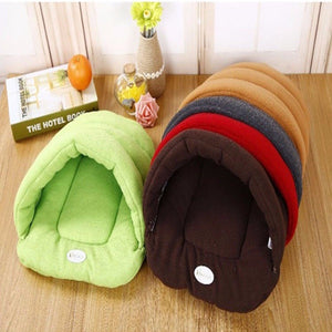 Pet Cat Bed Small Dog Puppy Kennel Sofa Polar Fleece Material Bed - EZShopping