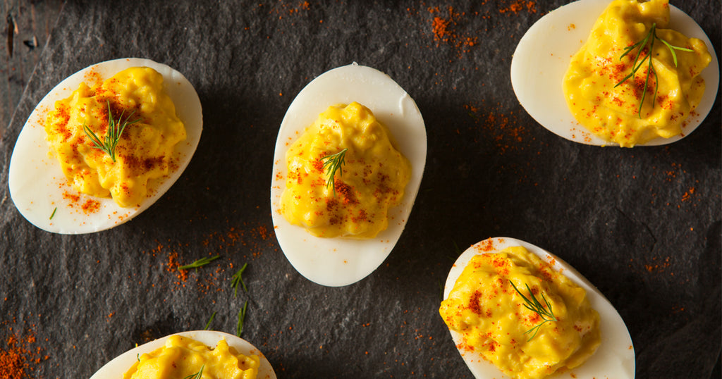 Legend Larry's Deviled Eggs