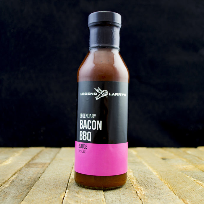 Legend Larry's 12oz Spicy Bacon BBQ Sauce